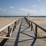 vista hacia la playa de tarifa